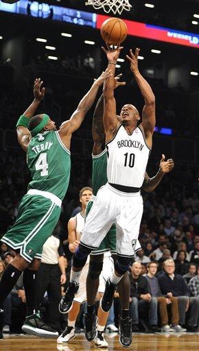 Nets beat Rondo-less Celtics, 102-97