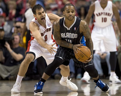 DeRozan scores 20 as Raptors beat Magic 97-86