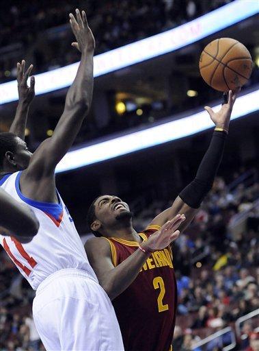 Turner leads 76ers over reeling Cavaliers 86-79