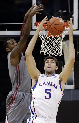 No. 12 Jayhawks rout Washington State 78-41