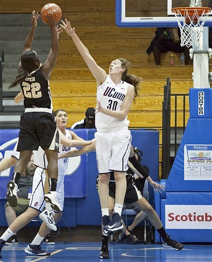 UConn women rout Wake Forest 95-34