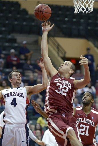 No. 17 Gonzaga beats Oklahoma 72-47