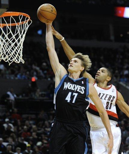 Matthews helps Blazers top Timberwolves 103-95