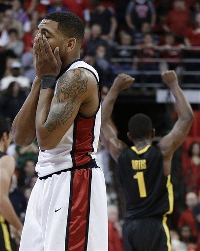 Oregon upsets No. 18 UNLV, 83-79
