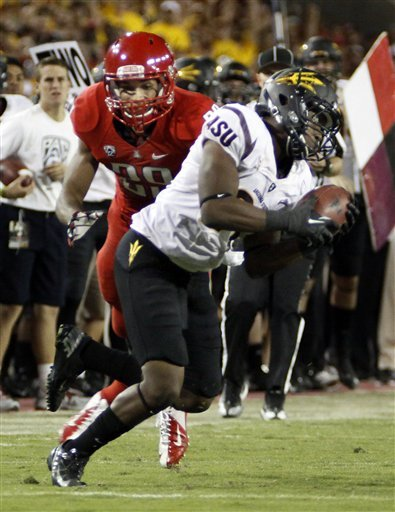 Arizona St. storms back for 41-34 win over Arizona