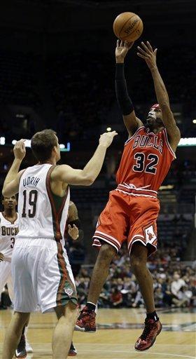 Bulls beat Bucks, snap 3-game losing streak