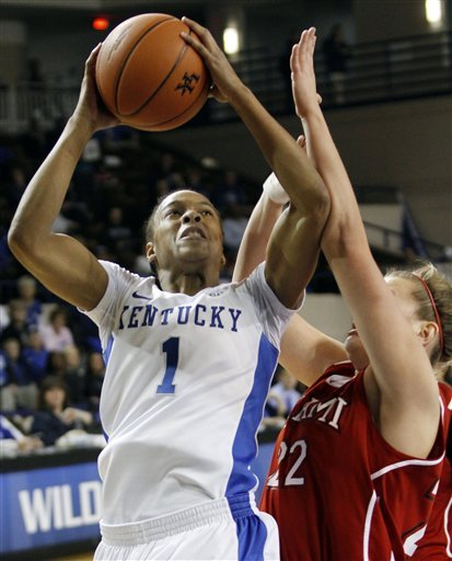 No. 9 Kentucky runs away from Miami (Ohio), 92-53