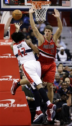 Wizards beat Blazers for 1st win after 12 losses