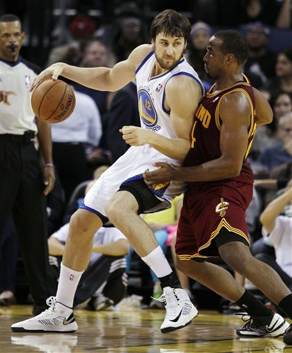 Andrew Bogut has played in just four games this season because of an ankle injury. (AP Photo)
