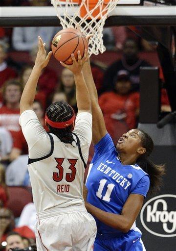No. 9 Kentucky edges No. 6 Louisville, 48-47