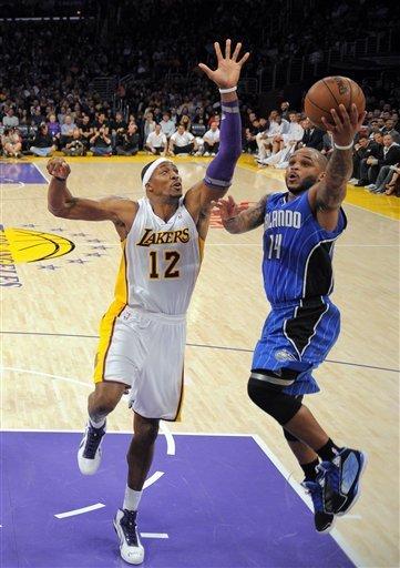 Orlando beats Dwight Howard's Lakers in reunion