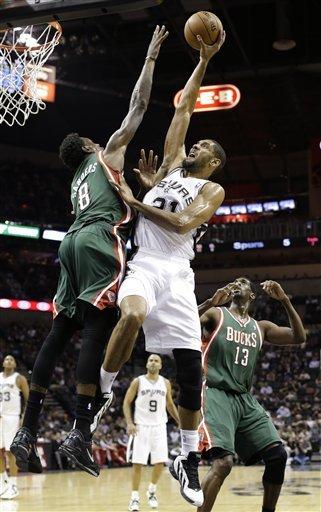 Parker, Neal score 22 in Spurs' win over Bucks