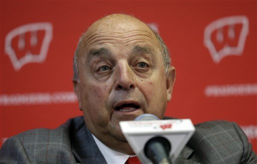 Wisconsin athletic director Barry Alvarez will coach the Badgers in the Rose Bowl. (AP)