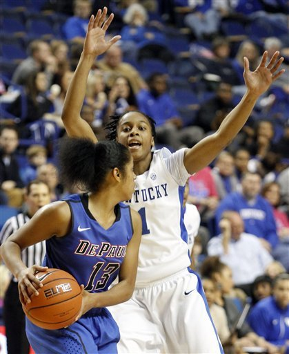 Kentucky women cruise past DePaul