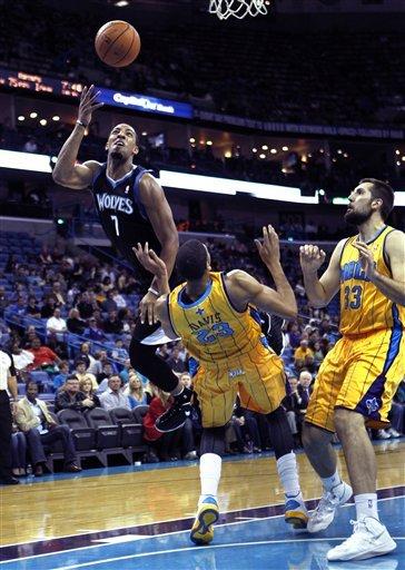 Timberwolves down Hornets 113-102