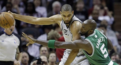 Parker leads Spurs past Celtics