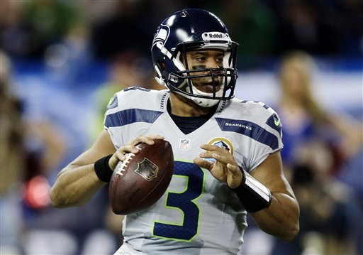 Russell Wilson soars as Seahawks rout Bills 50-17