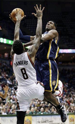 Jennings helps Bucks beat Pacers