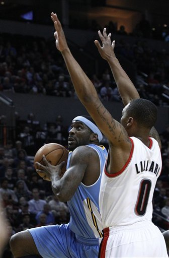 Blazers defeat Nuggets 101-93 for 4th straight win
