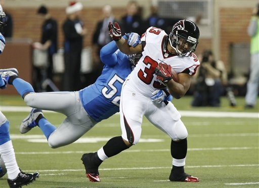 Falcons top Lions 31-18 for home-field advantage