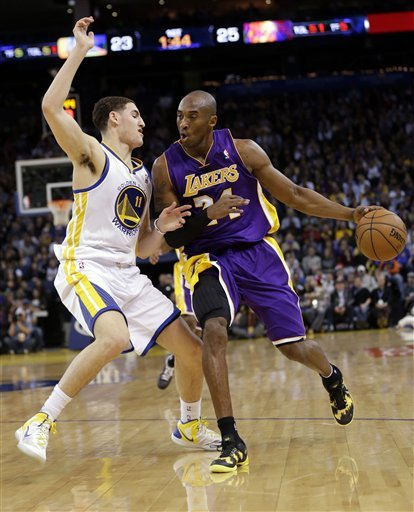 Lakers rally past Warriors in OT in Nash's return