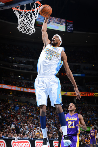 Brewer's 27 points lead Nuggets past Lakers