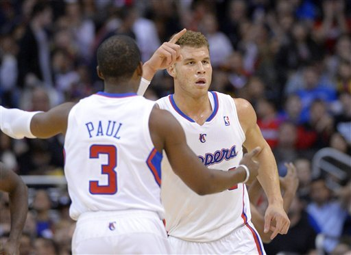 Blake Griffin and Chris Paul have kept the Clippers unbeaten since Nov. 26. (AP)