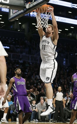Subs help Nets beats Kings for 3rd straight win