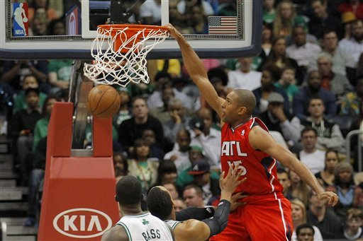 Rondo, Pierce help Celtics rally past Hawks