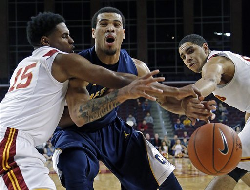 Crabbe leads California over USC 72-64