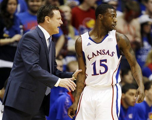 McLemore leads No. 6 Kansas past Iowa State in OT