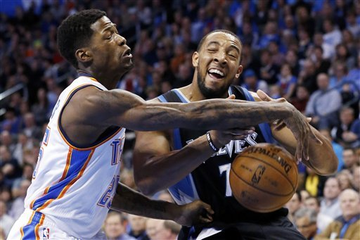 Thunderized; Wolves lose 106-84