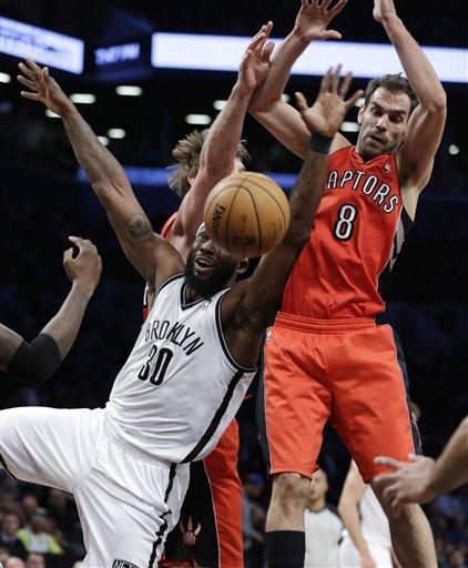 Nets beat Raptors for season-high 7th win in a row