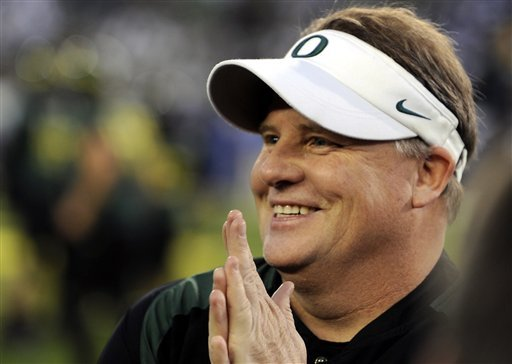 Despite no NFL experience, the Eagles are taking the plunge with Chip Kelly. (AP)