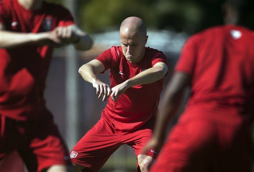 The U.S. will rely heavily on Michael Bradley in its quest to qualify for the 2014 World Cup. (AP)
