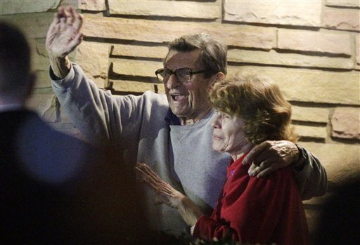 Joe Paterno's wife, Sue, commissioned a report to look into the Freeh report findings. (AP)