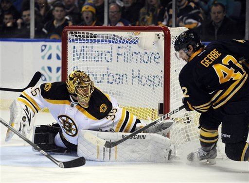 Bergeron leads Bruins to 3-1 win over Sabres