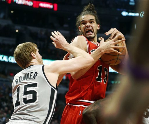 Short-handed Spurs beat Bulls 103-89