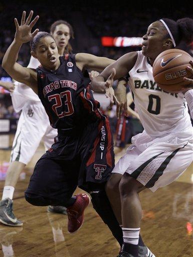 Griner, No. 1 Baylor women beat Texas Tech 89-47