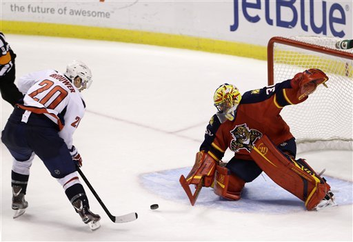 Brouwer's OT goal lifts Capitals over Panthers