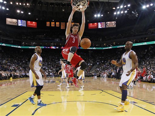 Harden leads Rockets past Warriors 116-107