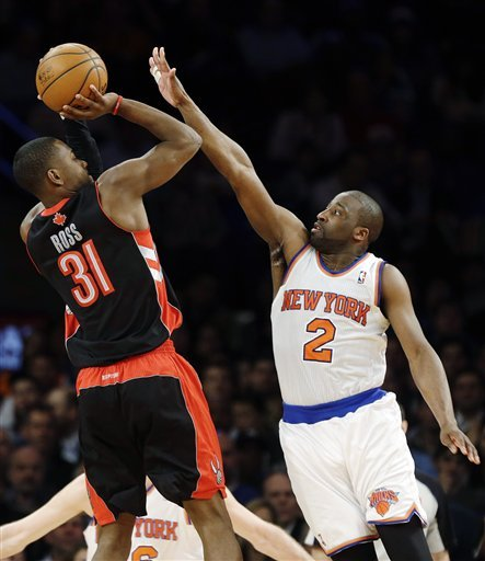 Raptors beat Knicks 92-88 for 4th straight win
