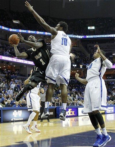 Jackson leads No. 22 Memphis past UCF 93-71