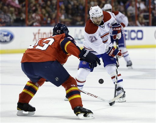 Canadiens beat Panthers 1-0 on Bourque's OT goal