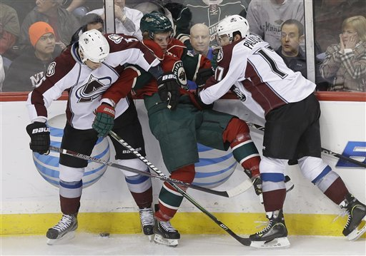 Avalanche beat Wild 4-3 in shootout