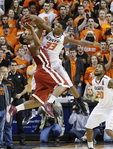 No. 17 Cowboys edge Sooners 84-79 in OT