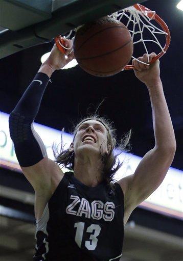 No. 5 Gonzaga holds off San Francisco 71-61