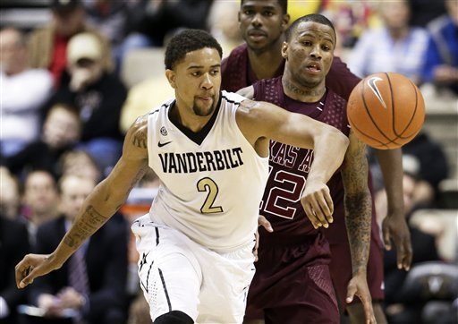 Odom, Parker lead Vanderbilt past Texas A&M 63-56