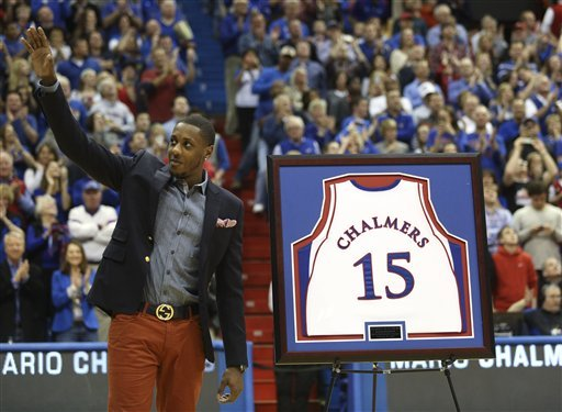 No. 14 Kansas routs Texas behind Withey, Releford