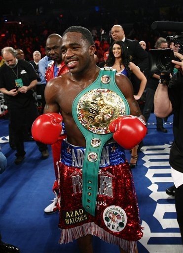 "For now, rising star Adrien Broner is no longer ""Mr. HBO Boxing."" (AP Photo)"